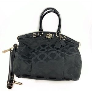 Coach 18649 Madison Lindsey Sateen Satchel